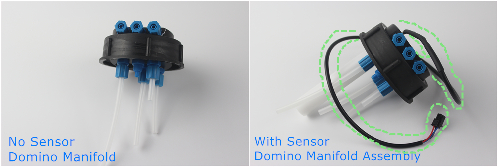 Domino manifold with & without sensor